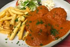 Spaghetti lunch brasserie industria